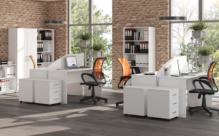Оперативная мебель Simple белый