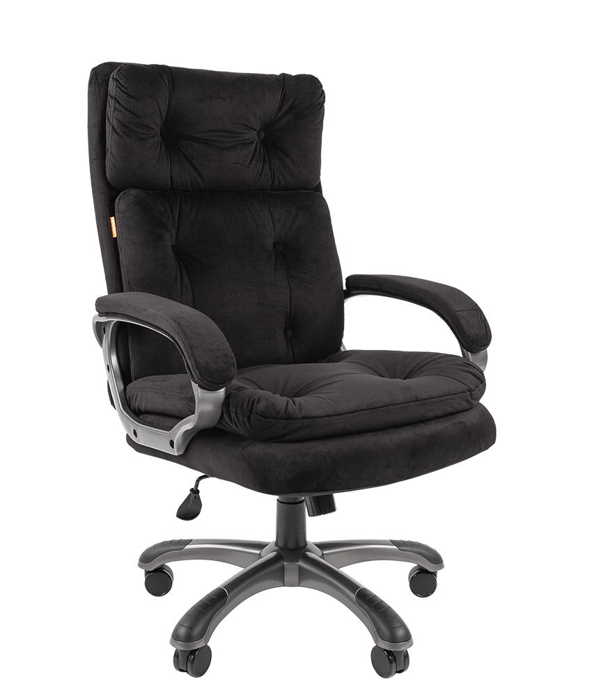 Кресло руководителя CHAIRMAN 442 - Черный Black, Микрофибра
