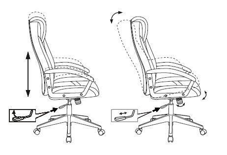 Кресло игровое Zombie VIKING-8