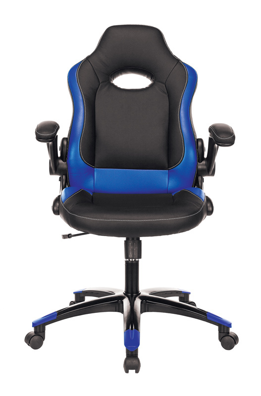 Кресло игровое Zombie VIKING-1N - Синий Blue