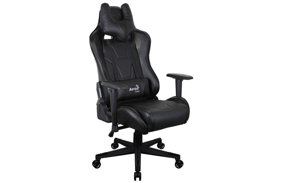 Игровое кресло Aerocool AC220 AIR - Черный Black