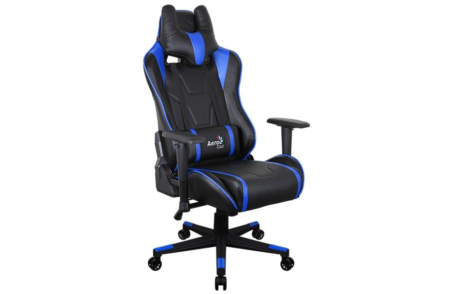 Игровое кресло Aerocool AC220 AIR - Синий Blue