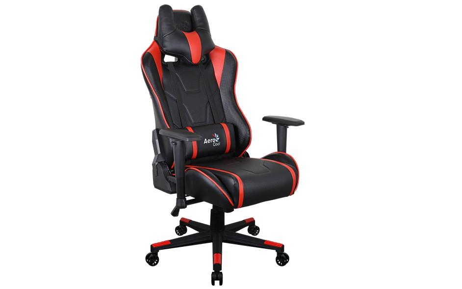 Игровое кресло Aerocool AC220 AIR - Красный Red