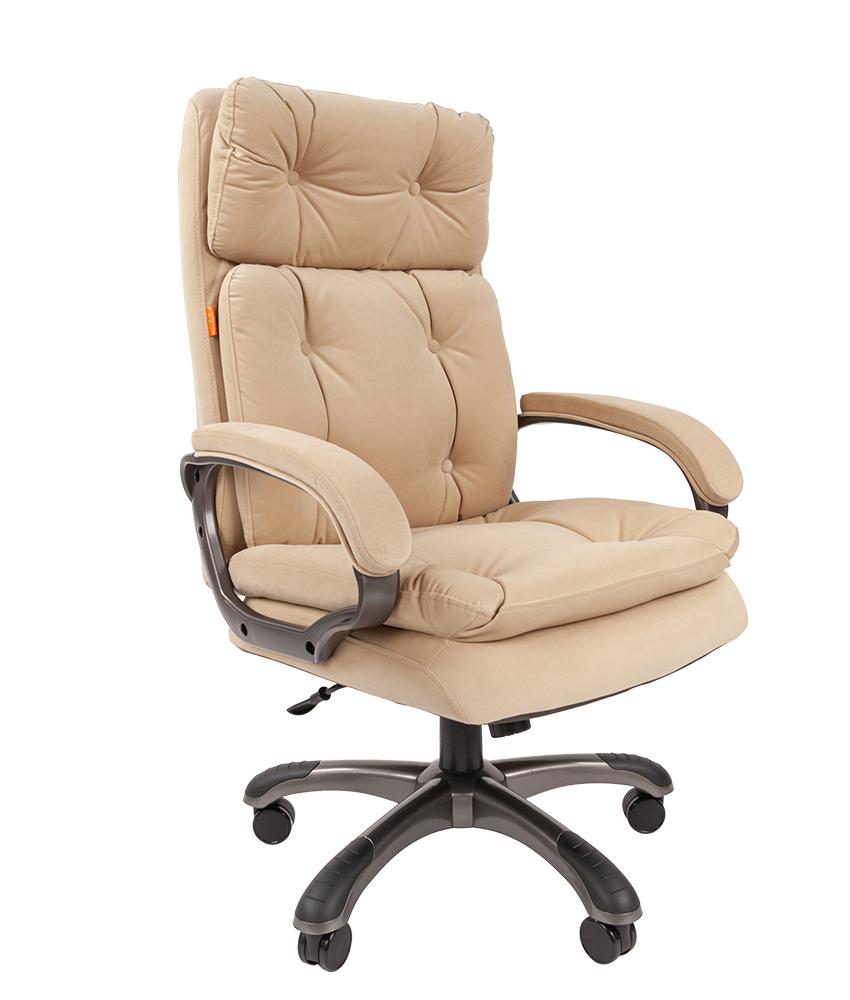 Кресло руководителя CHAIRMAN 442 - Бежевый Beige, Микрофибра