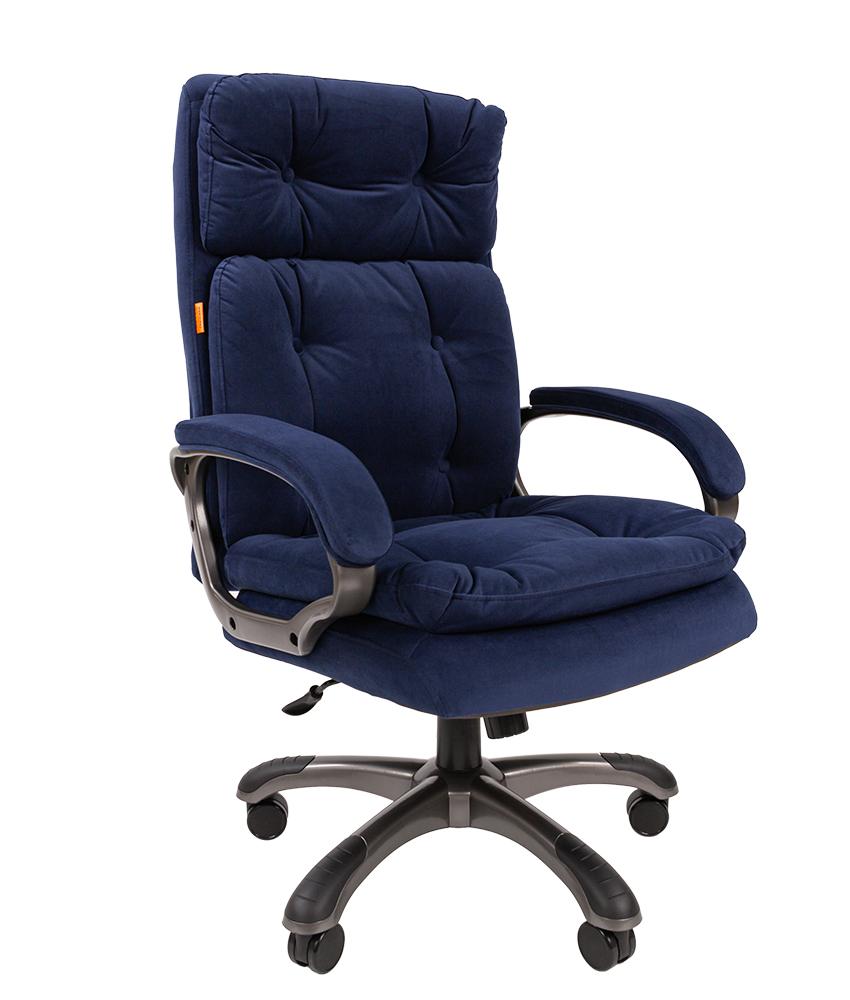 Кресло руководителя CHAIRMAN 442 - Синий Blue, Микрофибра