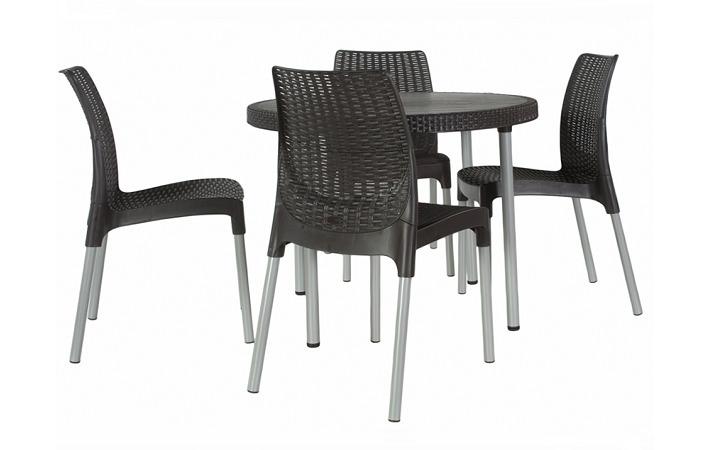 Пластиковая мебель - универсально практично и дешево