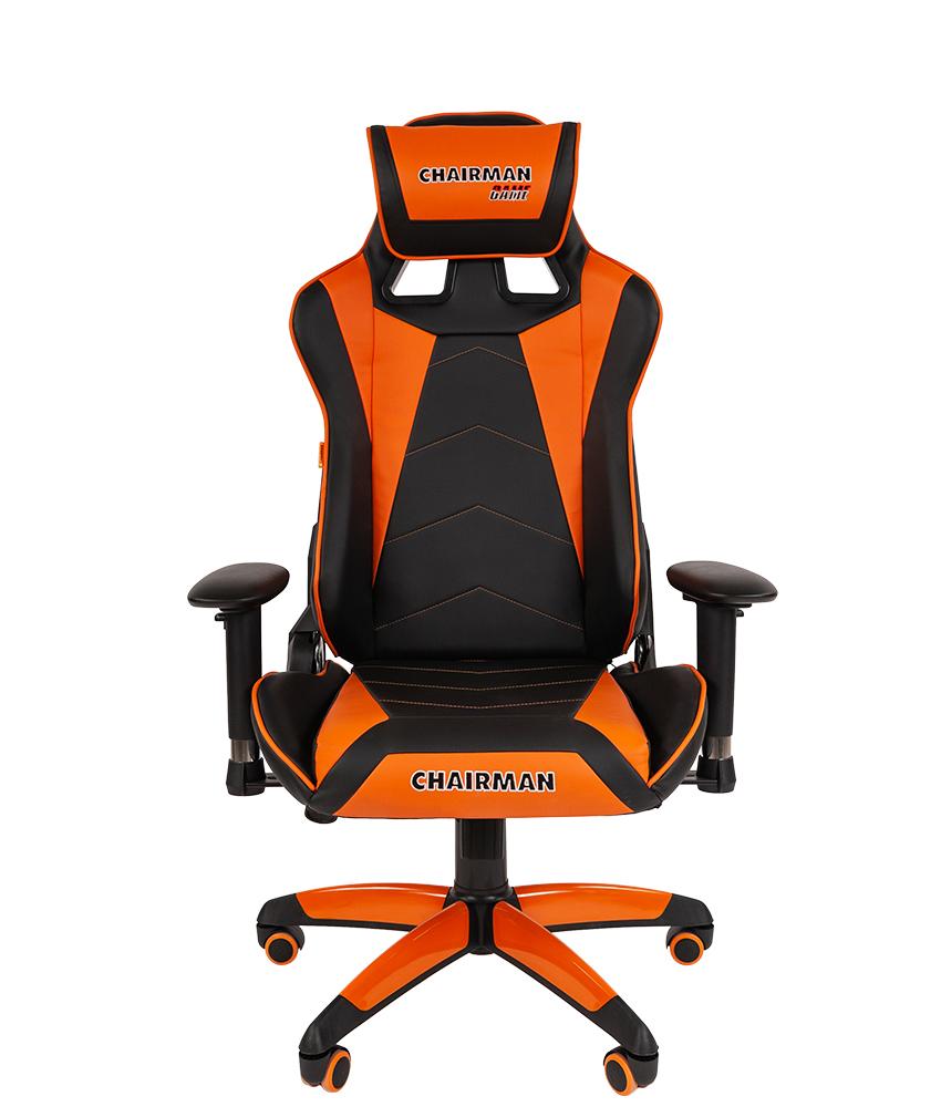 Кресло геймерское CHAIRMAN GAME 44 - Оранжевый orange