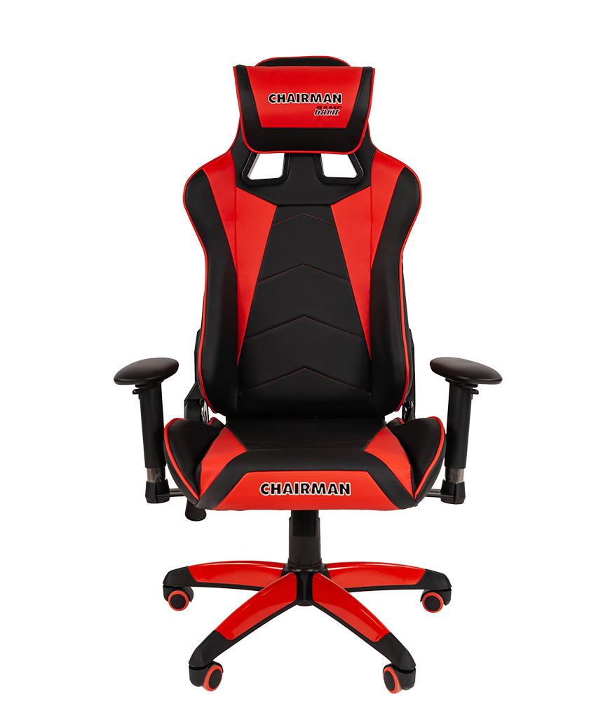 Кресло геймерское CHAIRMAN GAME 44 - Красный Red